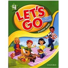 کتاب زبان Lets Go 4 - Student  Book + Workbook