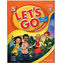 کتاب زبان Lets Go 5 - Student  Book + Workbook