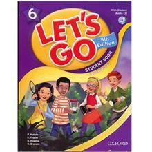 کتاب زبان Lets Go 6 - Student  Book + Workbook
