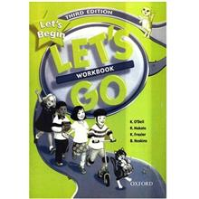 کتاب زبان Lets Go Lets Begin - Workbook