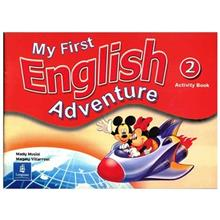 کتاب زبان My First English Adventure 2 - Activity Book