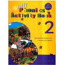 کتاب زبان Jolly phonics activity book2