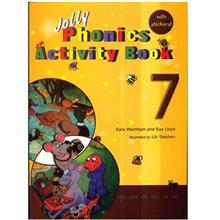 کتاب زبان Jolly Phonics Activity Book 7