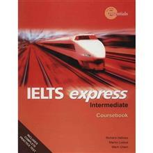 کتاب زبان IELTS EXpress Intermediate Coursebook And Workbook اثر ريچارد هالوز - دو جلدي