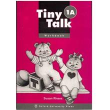 کتاب زبان Tiny Talk 1A - Work  Book