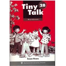 کتاب زبان Tiny Talk 2B -Work  Book