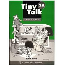کتاب زبانTiny Talk 3A -Work  Book