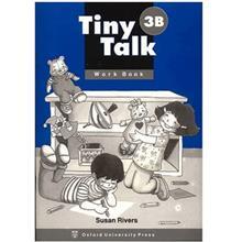 کتاب زبان Tiny Talk 3B -Work  Book