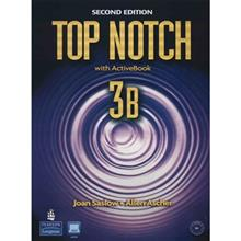 کتاب زبان Top Notch With Work Book 3B Second Edition