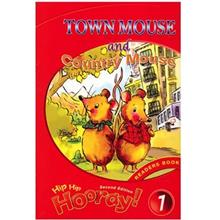 کتاب زبان Town Mouse And Coutry Mouse-Hip Hip Hooray 1