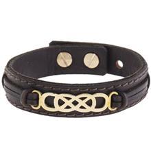دستبند چرمي ميو مدل BM21