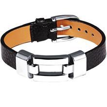دستبند چرمی روزینی مدل MB18