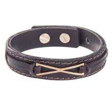 دستبند چرمي ميو مدل BM09