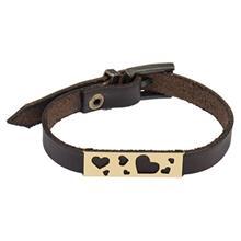دستبند چرمي ميو مدل BM38