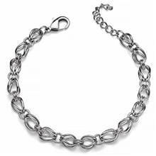 دستبند زنجیری الیور وبر مدل حلقهای 2807