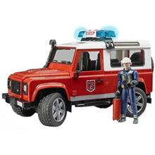 ماشين بازي برودر مدل  Land Rover Fire Stations Wagon With Fireman 2596