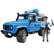 ماشين بازي برودر مدل Land-Rover Wagon Police Car With Policeman 2597