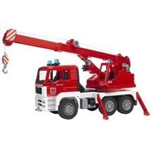 Bruder Man Fire Engine Crane Truck Toys Car