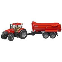 ماشين بازي برودر مدل Tractor Case CVX 230 With Trailer