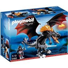 ساختني پلي موبيل مدل Giant Battle Dragon with LED Fire 5482
