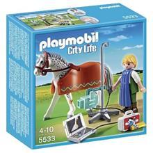 ساختني پلي موبيل مدل Horse With X Ray Technician 5533