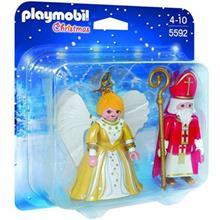 ساختني پلي موبيل مدل St.Nicholas and Christmas Angel 5592