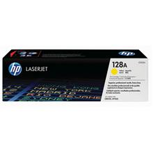 HP 128A Yellow Original LaserJet Toner Cartridge(CE322A)