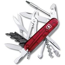 Victorinox Cyber 34 Red Trans 17725T