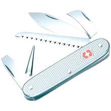 چاقوي ويکتورينوکس مدل Pioneer Alox Silver کد 0815026