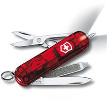 چاقوي ويکتورينوکس مدل Sign Lite Red Trans کد 06226T