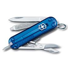 Victorinox Signature Blue Trans 06225T2