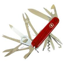Victorinox Swiss Champ Red Trans 16795T Knife