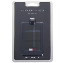 Tommy Hilfiger Plaid Luggage Tag