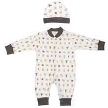ست لباس نوزادي ندا و ساراگل مدل 1034