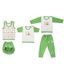 ست لباس نوزادي ندا و ساراگل مدل 3444