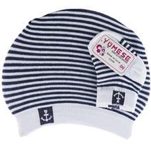 ست کلاه و جوراب نوزادي سرمهاي يومسه مدل 3696