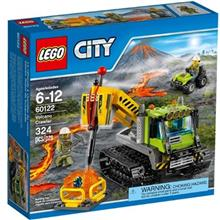 City Volcano Crawler 60122 Lego