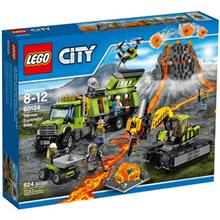 City Volcano Exploration Base 60124 Lego