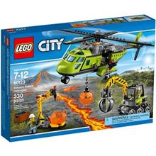 لگو سري City مدل Volcano Supply Helicopter 60123