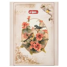 Clips Flower and Brid Design Ring Binder Notebook
