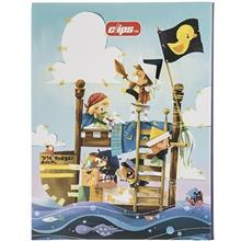 Clips Little Pirates Design Ring Binder Notebook