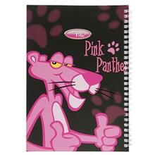 Clips Pink Panther Design Homework Notebook