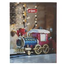 Clips Train Design Ring Binder Notebook - 100 Sheets