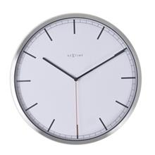 Nextime Company White Stripe 3071wi Clock