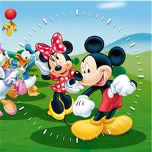 Violet Decor Mickeymouse S22 Clock