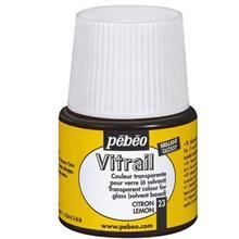 رنگ ويتراي پ ب او شفاف مدل Vitrail Lemon 23 حجم 45 ميلي ليتر
