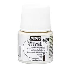 رنگ ویترای پ ب او شفاف مدل Vitrail Pearl 39 حجم 45 میلی لیتر