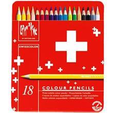 مداد رنگي 18 رنگ کارن داش سري سوييس کالر مدل 1285718