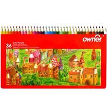 مداد رنگی 36 رنگ اونر مدل 141736