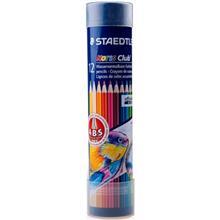مداد آبرنگی 12 رنگ استدلر مدل نوریس کلاب